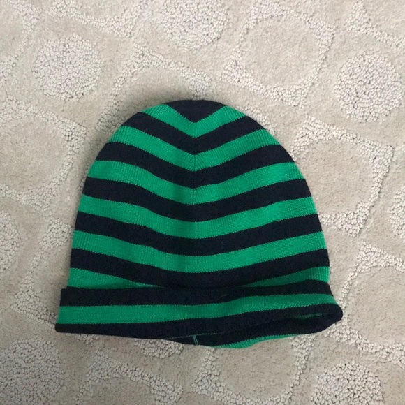 J.Crew navy  green winter hat 5331a179108f